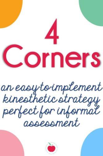 4 Corners assessment strategy