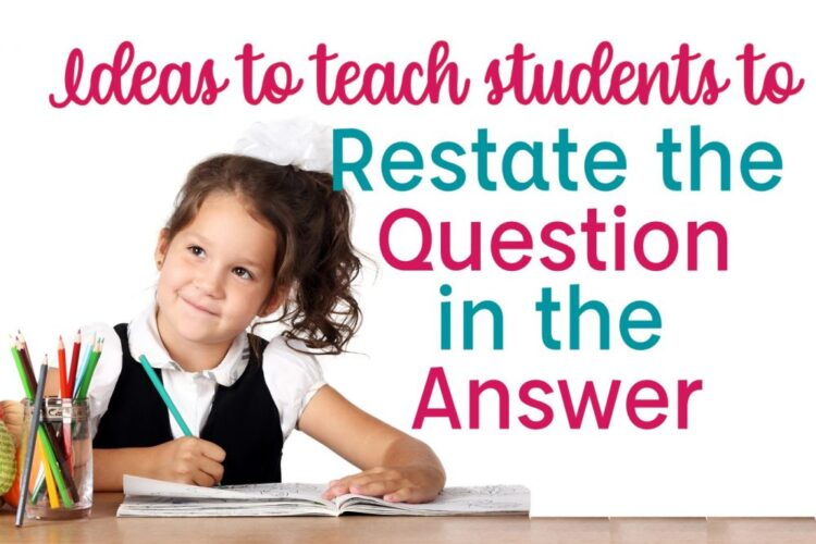 Restating the Question image