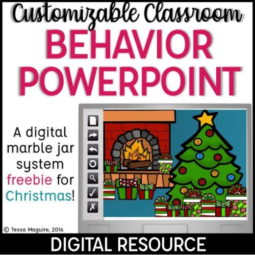 Christmas and December Classroom Management