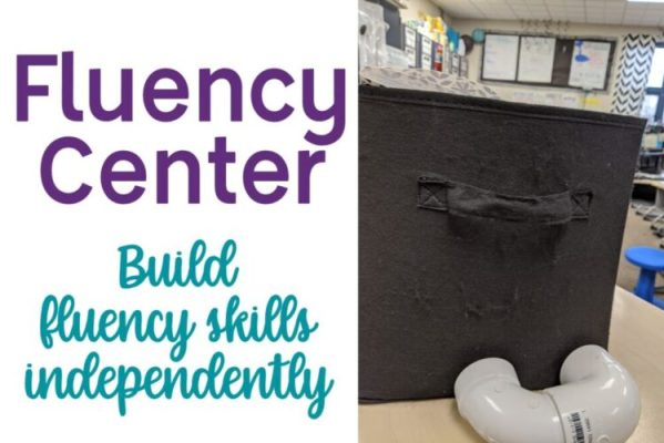 Build fluency skills independently with a fluency center