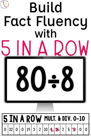 Build Fact Fluency with 5 in a Row