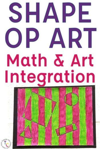 Shape Op Art Math and Art Integration