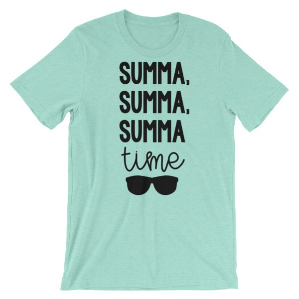 Summa, summa, Summa time tee heather mint