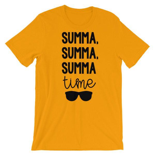 Summa, summa, Summa time tee gold