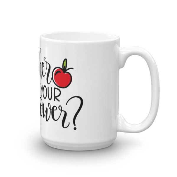 I'm a teacher, what's your superpower mug