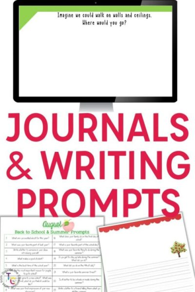 Journals and prompt writing