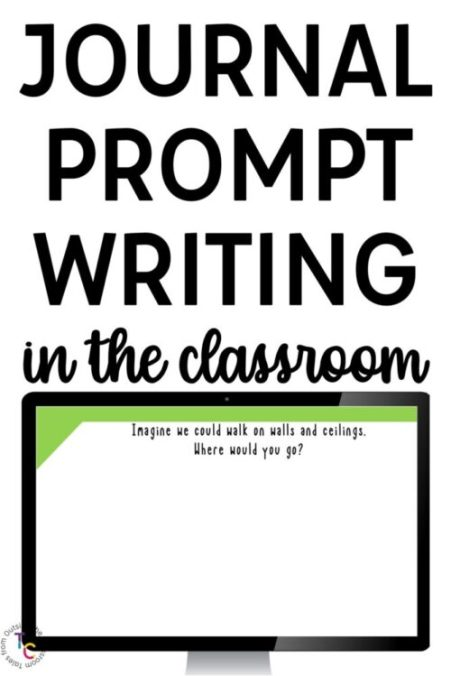 Journal Prompt Writing in the Classroom Digital Journals