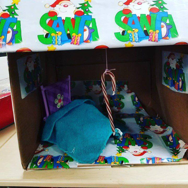 Box elf trap
