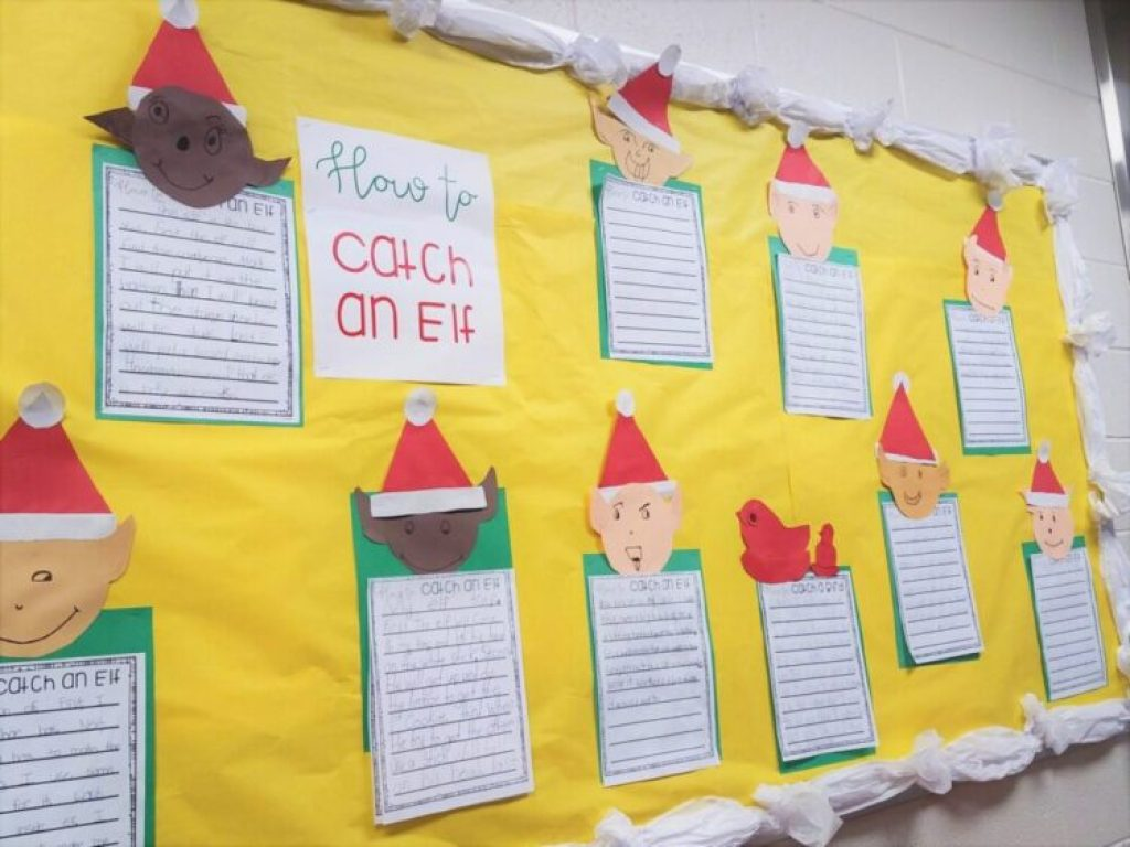 How to Catch an Elf Bulletin Board Display