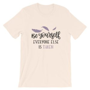 Cream Be Yourself tee