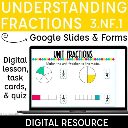 Understanding Fractions Digital products