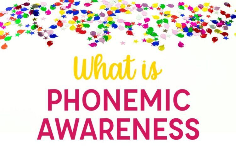 What is Phonemic Awareness