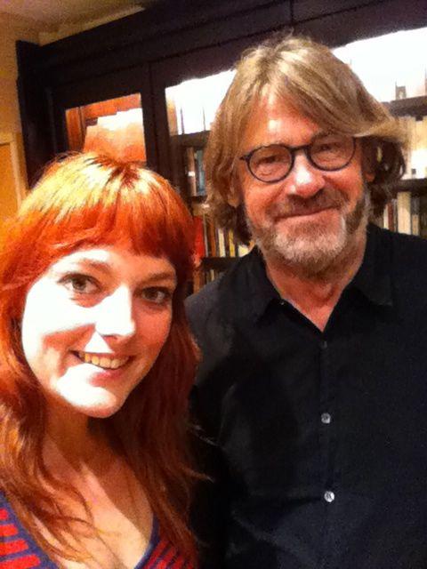 Met Nigel Slater in Amsterdam