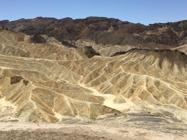 Zabriske Point, Death Valley, California