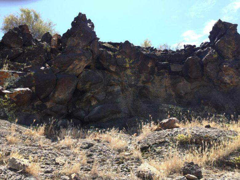 Seventeen Mile petroglyphs, Mojave Desert, Mojave National Preserve, California, rock art, Petroglyphs