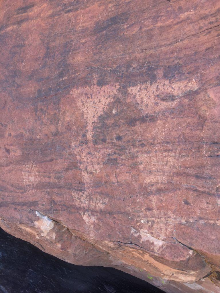 Calico Basin, La Madre Mountains, RRNCA, Red Rock, Las Vegas, Nevada, Rock Art, Petroglyphs