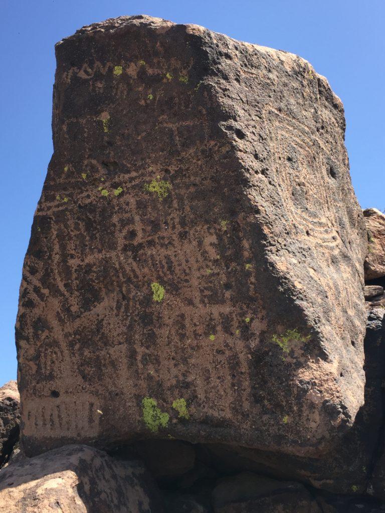 Mojave Desert, Mojave National Preserve, Lanfair Butte, Indian Wells, Petroglyphs, Rock Art, California