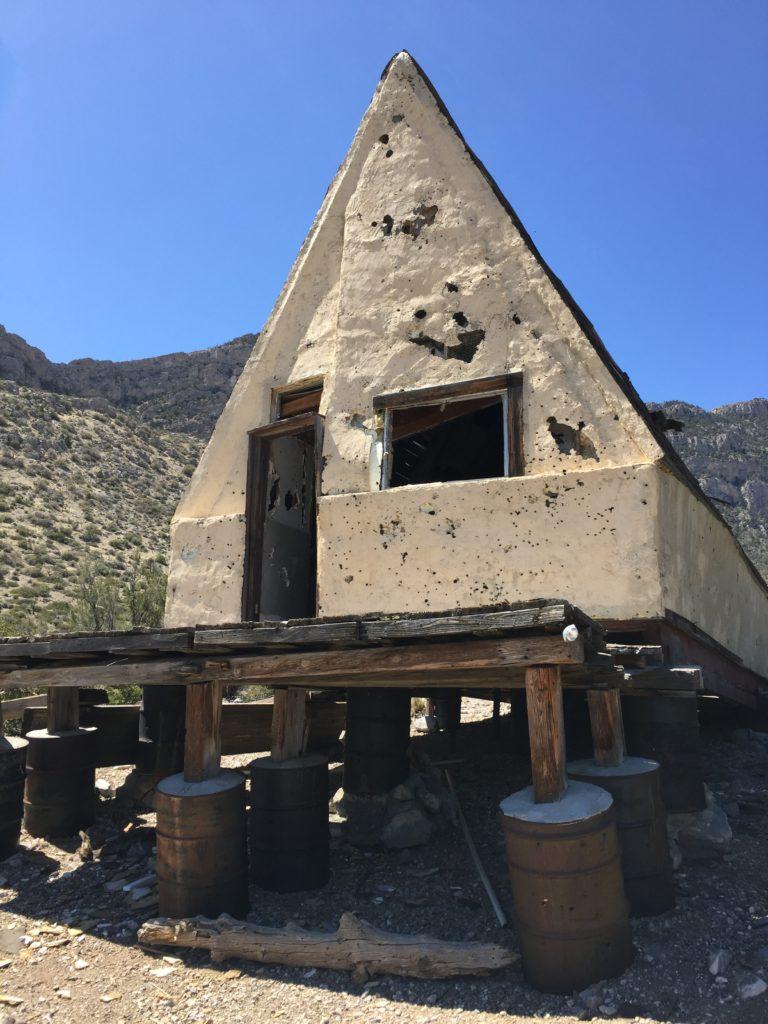 Carole Lombard, Clark Gable, Nevada, Goodsprings, Ninety Nine Mine, Ruins, Mine, Mt Potosi
