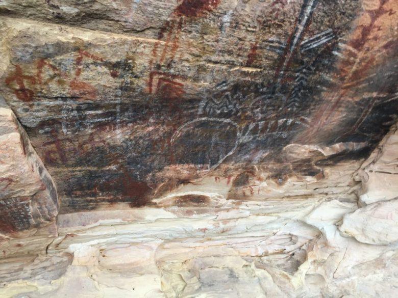 Brownstone Canyon, Las Vegas, Red Rock, RRNCA, Nevada, Pictographs, Petroglyphs, Rock Art