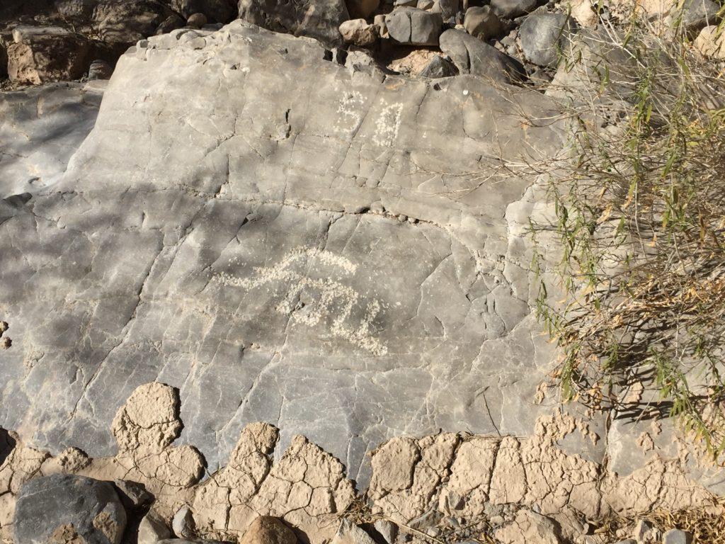Arrow Canyon, Nevada, Clark County, Petroglyphs, Mojave Desert, Fossils, Rock Art