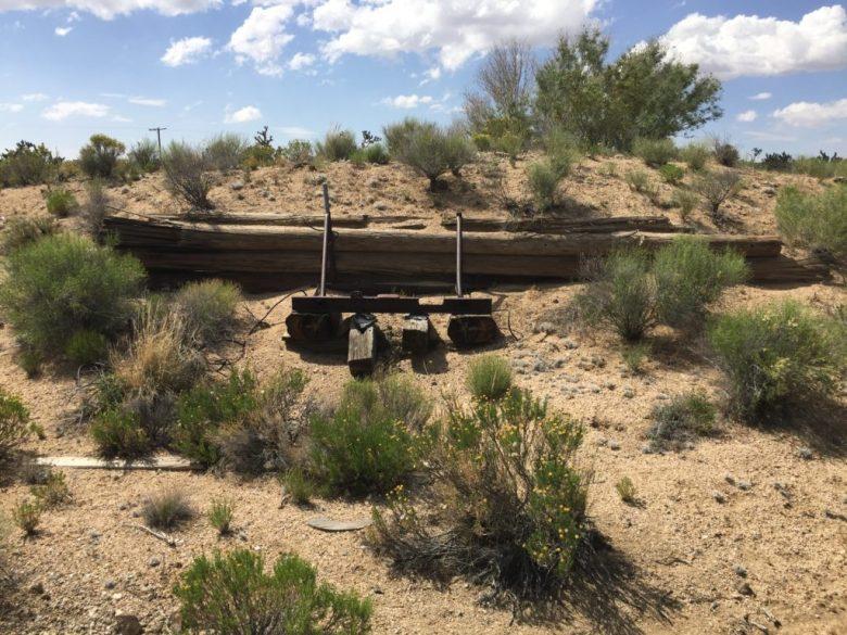 Rainbow Wells, Mojave Desert, Mojave National Preserve, California, Mines