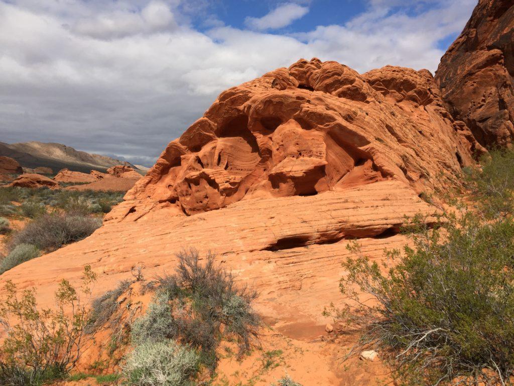 Atlatl Rock, Valley of Fire, Nevada, Petroglyphs, Rock Art, Moapa Valley