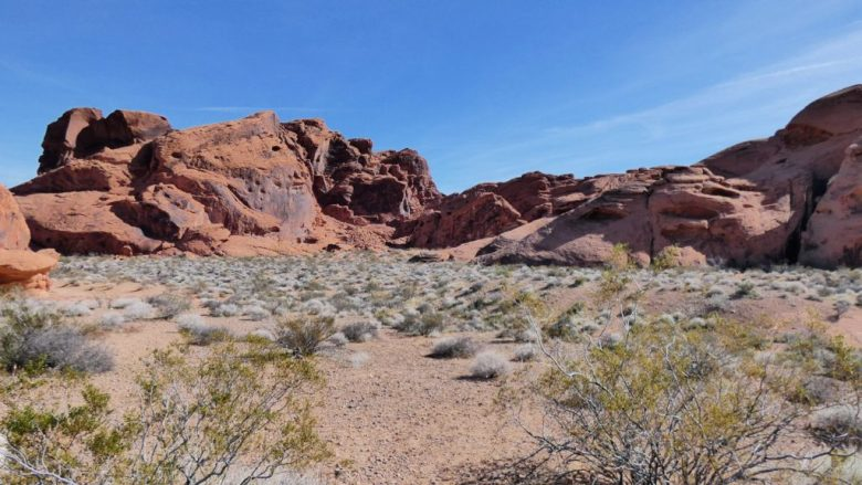 Arch Rock, Valley of Fire, Nevada, Pictographs, Rock Art