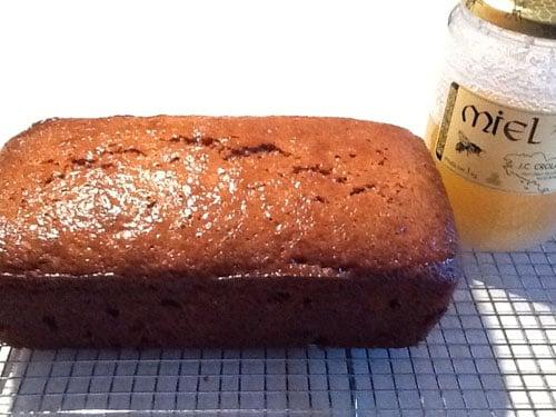 Honey Glazed Malt Loaf