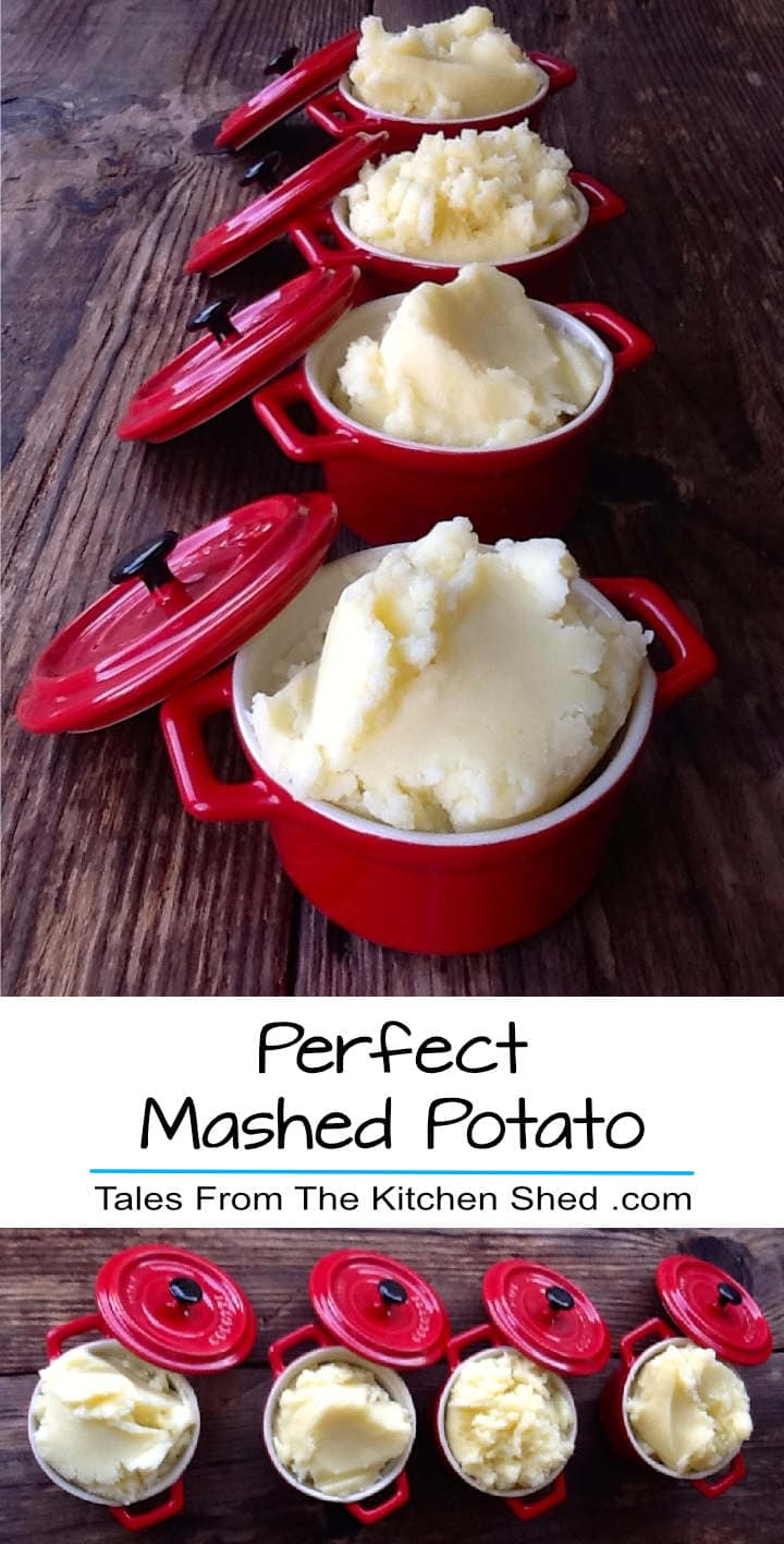 Top 10 Tips to help you make Perfect Mashed Potato every time. Sometimes there's nothing better than a creamy mash, the perfect comfort food!