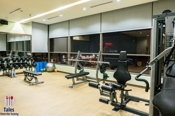 Bellevue Manila Signature Club Lounge Fitness Center 01