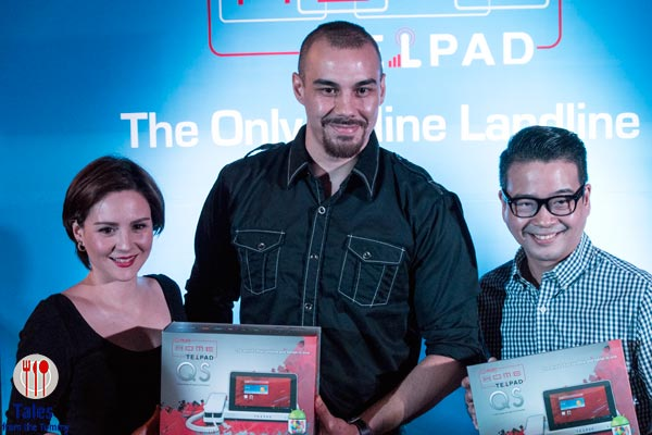 PLDT Home Quadcore Telpad Doug and Cheska Kramer