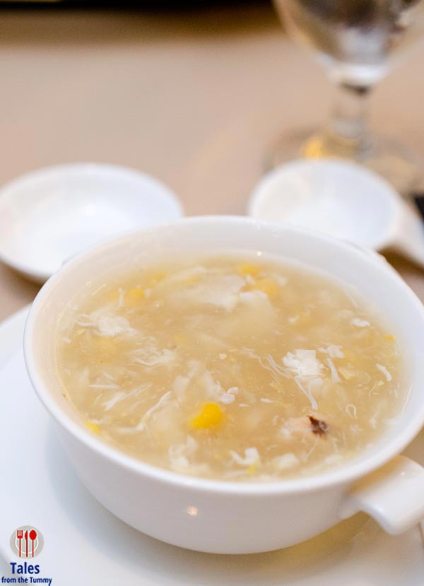 Phoenix Court Dimsum Corn Soup with Crab Meat