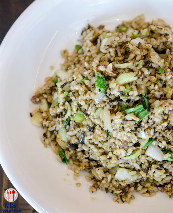 Chairman Wang's Black Olive Fried Rice