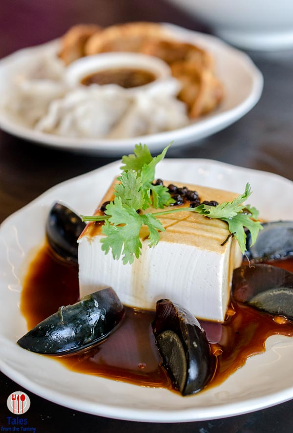 Chairman Wang's Chilled Tofu Block with Century Egg