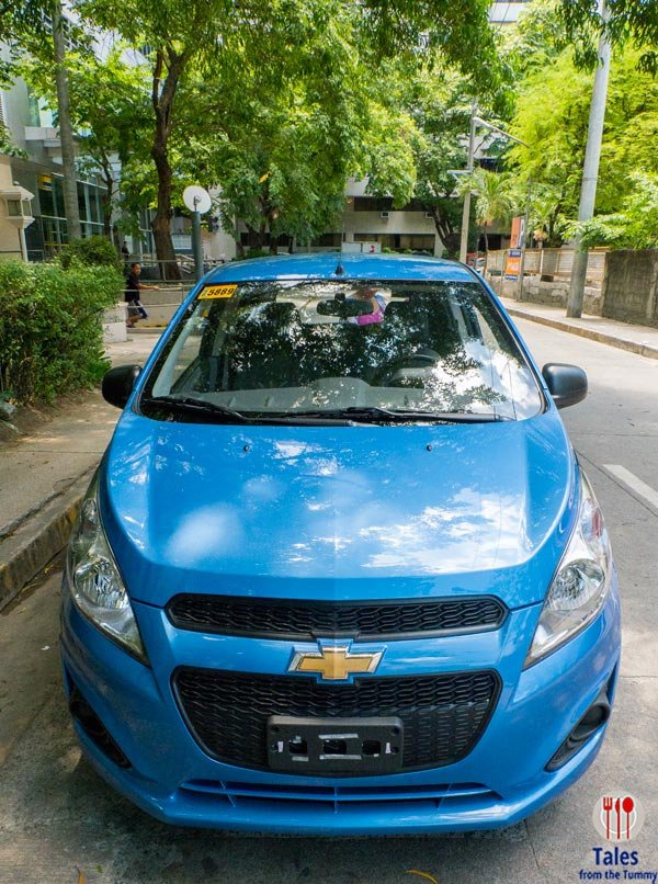 Chevy Spark Front View