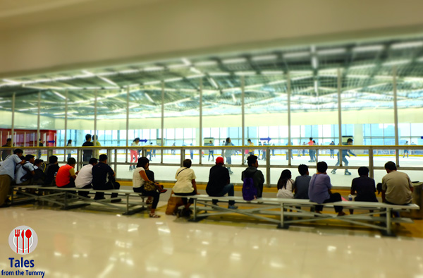 SM Megamall Skating Rink Seating Area