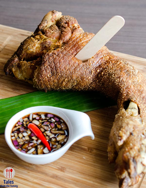 Livestock Restaurant and Bar Melt In Your Mouth Crispy Pata
