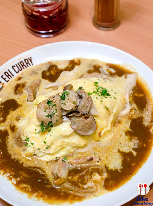 Eri Curry SM Megamall Atrium Creamed Mushroom Omelette Curry