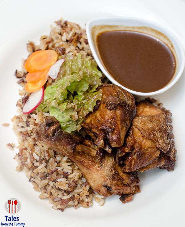 Shine Bakery and Cafe SM Aura Chicken Adobo