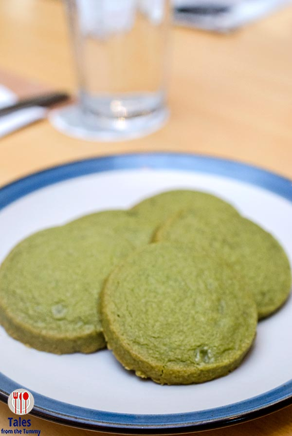 Shine Bakery and Cafe SM Aura Matcha Shortbread Cookies