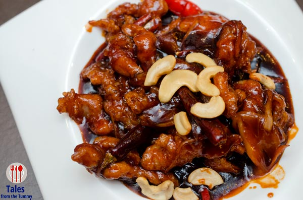 Wee Nam Kee PH Chicken with Cashews and Sun Dried Chili