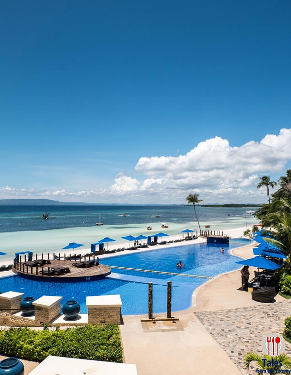 Bellevue Resort Bohol Philippines Pool and Beach View