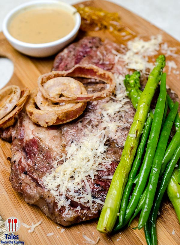 Bruce Lim Rustique Kitchen Makati Grilled Rib Eye Steak