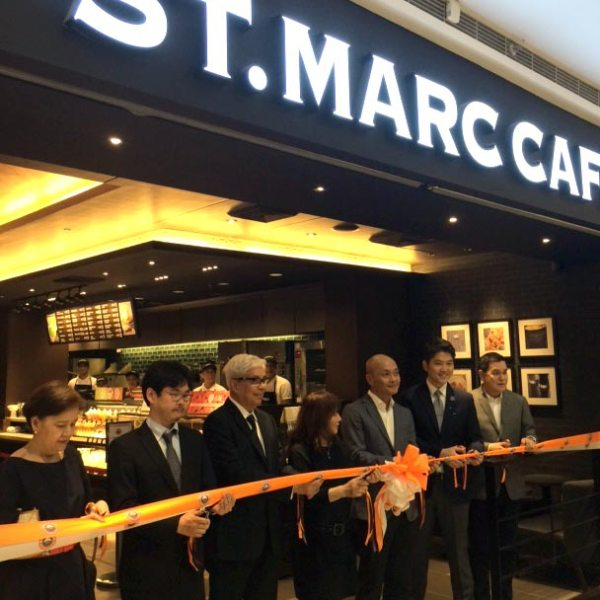 St Marc Cafe SM Megamall Grand Opening