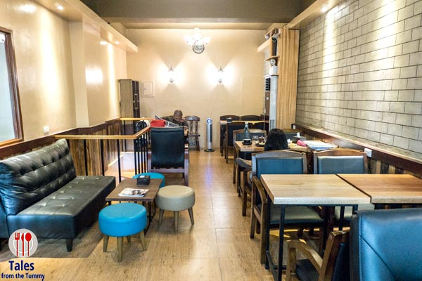 Caerus Specialty Coffee Quezon City Upstairs Seating