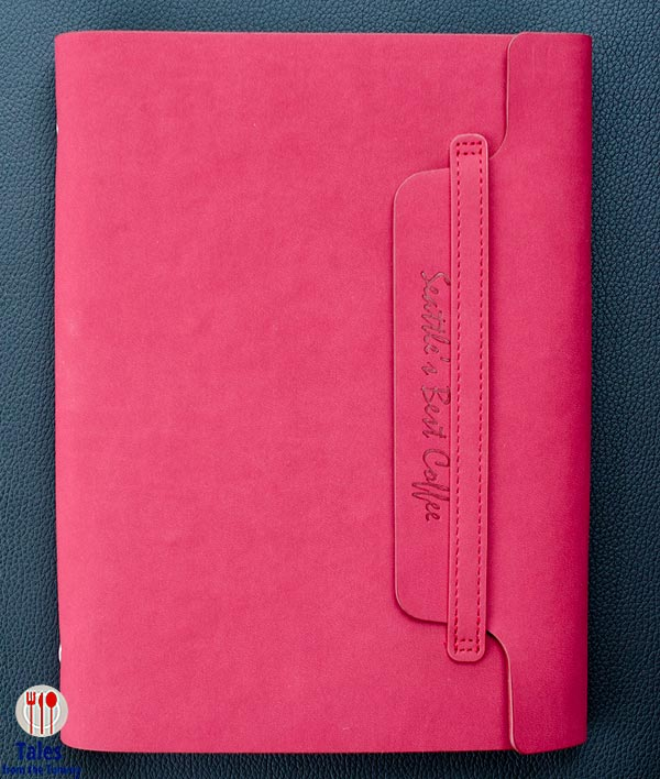 Seattles Best 2015 Journal Red