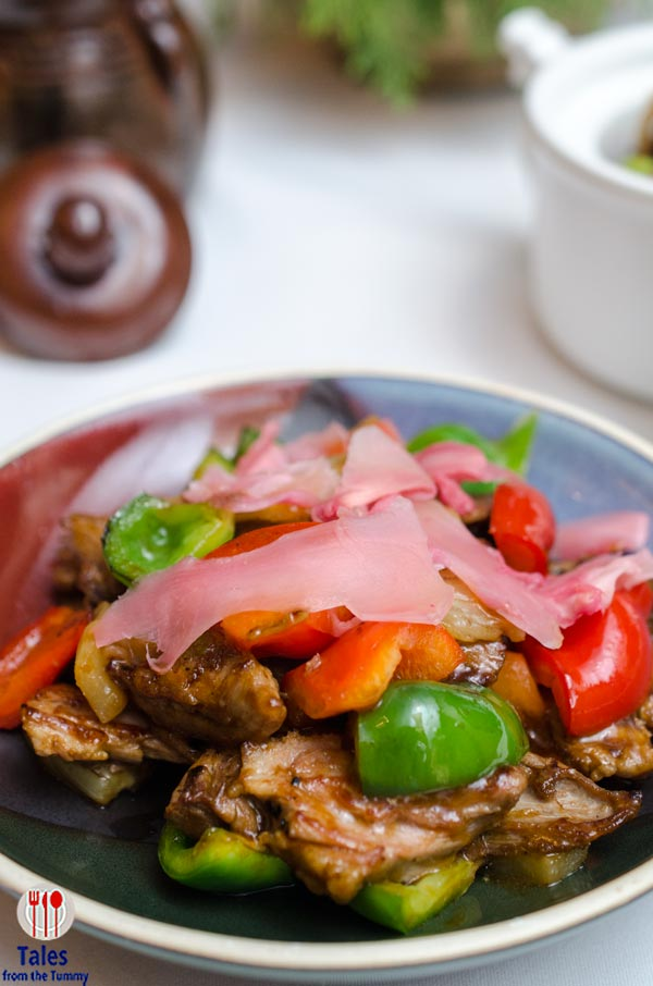 Shang Palace Makati Shangrila Stir Fried Roasted Duck with Pickled Ginger