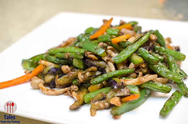 Crystal Jade Dining In BGC Sauteed Vegetables with Preserved Vegetables