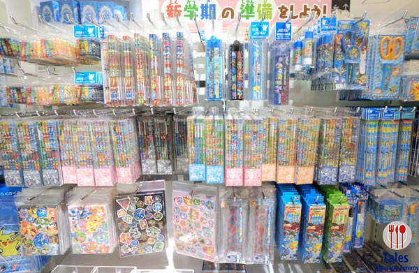 Pokemon Center Daimaru Umeda Osaka School Supplies