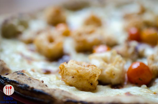 The Italian Market Resorts World Clams and Calamari Pizza